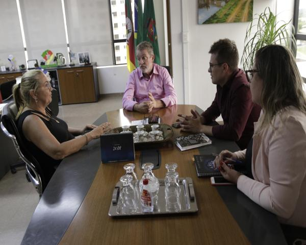 Prefeito Ary Vanazzi recebe Nova CEO do Tecnosinos