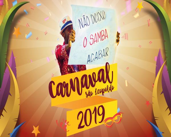 Lançamento do Carnaval de São Leopoldo 2019 é neste sábado