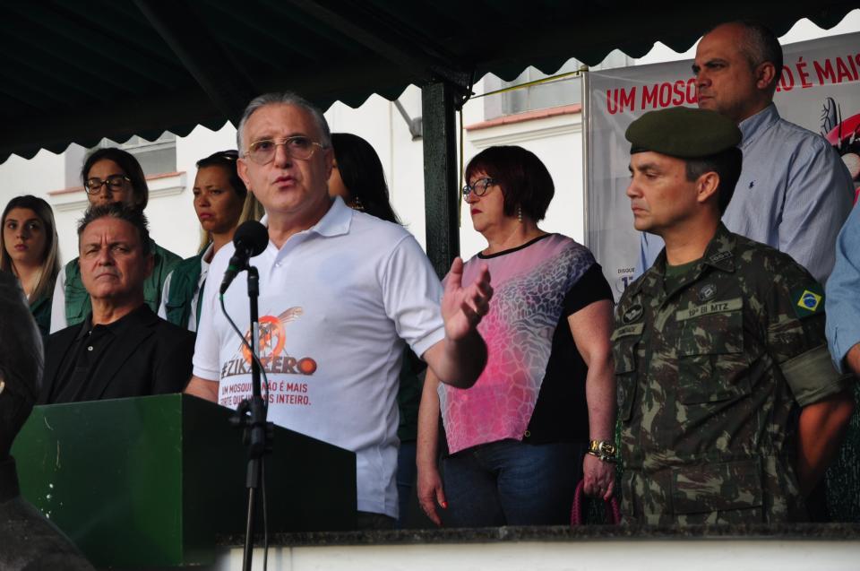 S�o Leopoldo recebe apoio do Ex�rcito para combater o Aedes