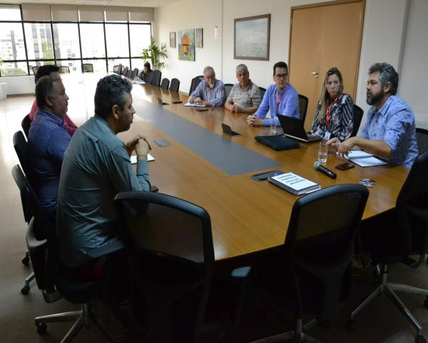 Prefeitura  e RGE Sul reúnem-se para definir plano de ação em operações da concessionária