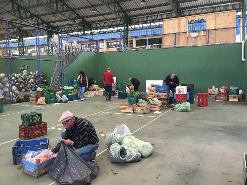 Programa Aquisi��o de Alimentos faz primeira distribui��o de hortifrutis do ano