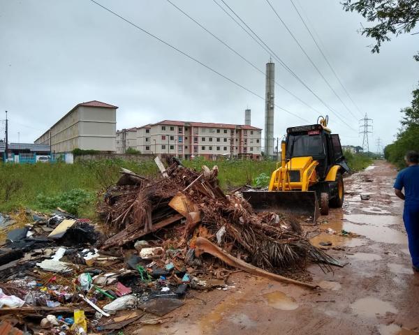 Força-tarefa para combater descarte irregular de lixo