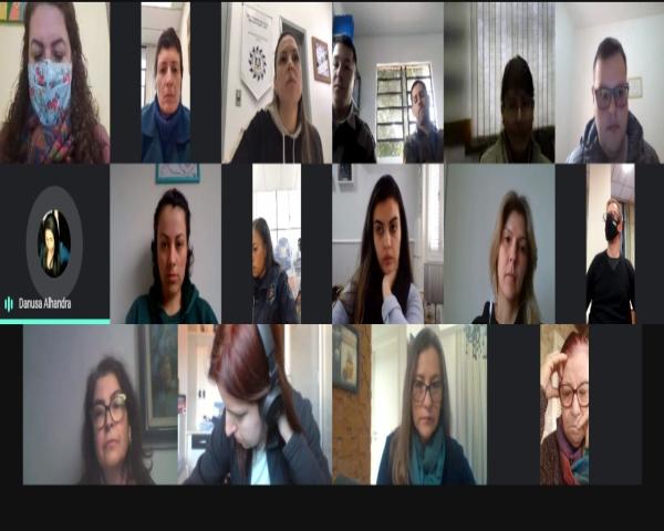 Reunião da Rede de Enfrentamento à violência contra a mulher atualiza funcionamento dos serviços de proteção