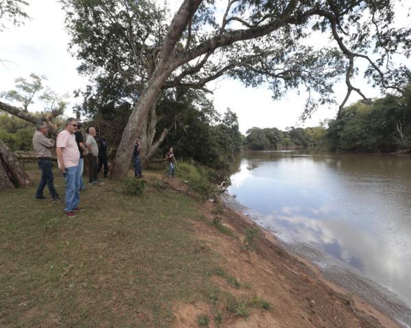 Força tarefa vistoria os diques de São Leopoldo