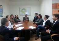 Gestores e judiciários debatem a instalação de juizado especializado em São Leopoldo (Foto: TJRS)