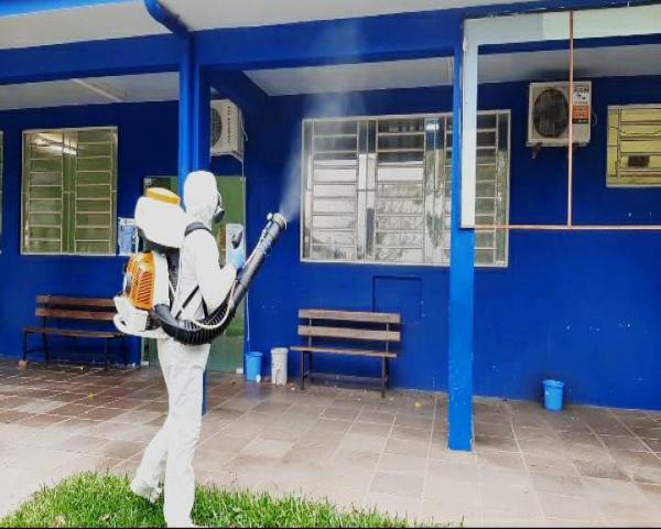 UPA e Centro de Saúde Feitoria ganham reforço na higienização